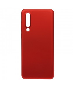 Just Must Uvo Red - Huawei P30 Carcasa Plastic (material fin la atingere, slim fit)