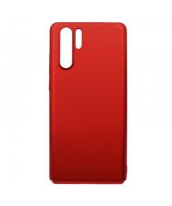 Just Must Uvo Red - Huawei P30 Pro Carcasa Plastic (material fin la atingere, slim fit)