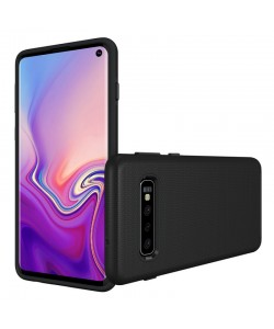 Eiger North Case Black - Samsung Galaxy S10 Carcasa TPU (shock resistant)