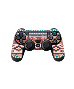 Floral Aztec - PS4 Dualshock Controller Skin
