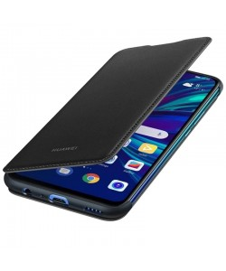 Huawei Book Wallet Cover Black - Huawei P Smart (2019) Husa Book