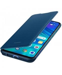 Huawei Book Wallet Cover Blue - Huawei P Smart (2019) Husa Book