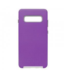 Devia KimKong Purple - Samsung Galaxy S10 Plus Carcasa (antishock, din doua bucati)