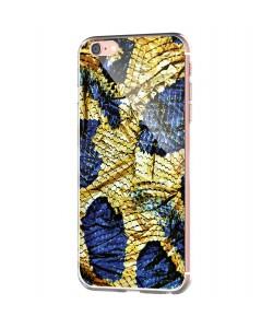 Snake - iPhone 6 Carcasa Transparenta Silicon