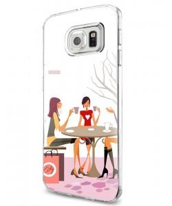Coffee Break - Samsung Galaxy S7 Carcasa Silicon