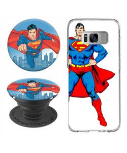 Combo Popsocket Superman