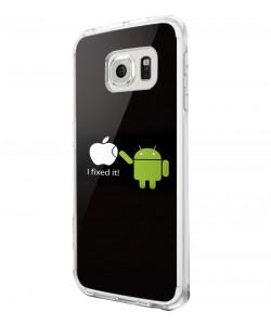 I fixed it - Samsung Galaxy S6 Edge Carcasa Silicon Premium