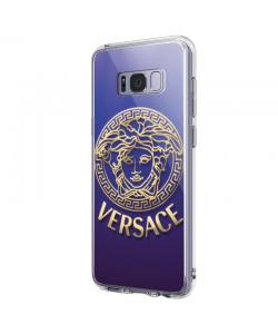 Versace - Samsung Galaxy S8 Plus Carcasa Transparenta Silicon