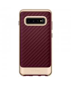 Spigen Neo Hybrid Burgundy - Samsung Galaxy S10 Plus Carcasa TPU
