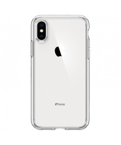 Spigen Ultra Hybrid Crystal Clear - iPhone XS / X Carcasa TPU Silicon
