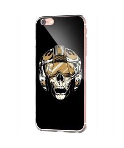 Born to be Wild - iPhone 6 Carcasa Transparenta Silicon