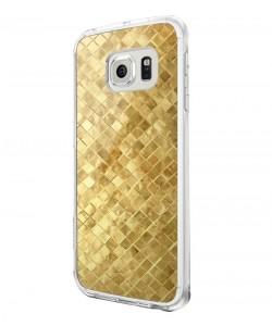 Squares - Samsung Galaxy S6 Edge Carcasa Silicon Premium