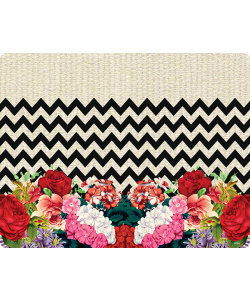 Floral Contrast - Samsung Galaxy A5 Carcasa Silicon