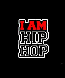 I am Hip Hop - Samsung Galaxy S3 Mini Carcasa Transparenta Plastic