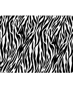 Zebra Labyrinth - Samsung Galaxy S4 Carcasa Transparenta Silicon