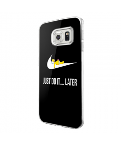 Just Do It ... Later - Samsung Galaxy S7 Edge Carcasa Silicon