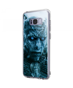 GoT Night King - Samsung Galaxy S8 Plus Carcasa Transparenta Silicon