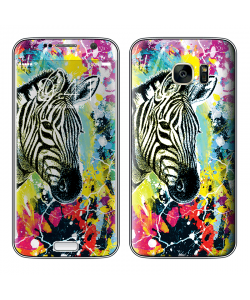 Zebra Splash - Samsung Galaxy S7 Skin