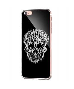 Ribbon Cranium - iPhone 6 Carcasa Transparenta Silicon