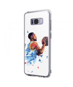 Stephen Curry - Samsung Galaxy S8 Plus Carcasa Transparenta Silicon