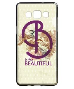 B is for Beautiful - Samsung Galaxy A5 Carcasa Silicon