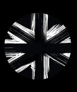 Popsocket Black UK Flag, Accesoriu telefon