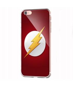 Flash Logo - iPhone 6 Carcasa Transparenta Silicon