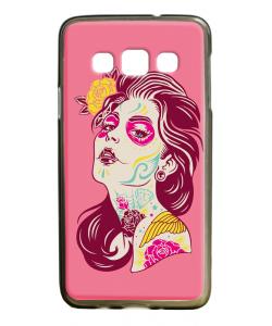 Fabulous Tattoos - Samsung Galaxy A3 Carcasa Silicon Premium