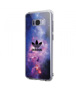 Adidas Galaxy - Samsung Galaxy S8 Plus Carcasa Transparenta Silicon