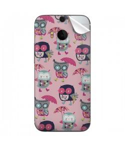 Pastel Owls - HTC One M8 Skin