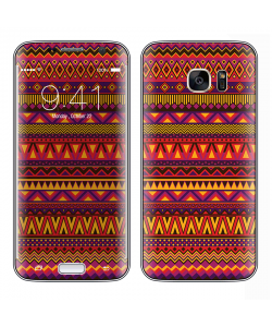 Aztec Summer - Samsung Galaxy S7 Edge Skin