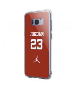 Jordan 23 - Samsung Galaxy S8 Plus Carcasa Transparenta Silicon