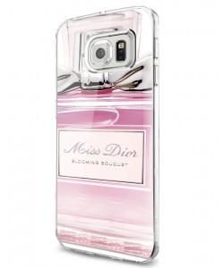 Miss Dior Perfume - Samsung Galaxy S7 Edge Carcasa Silicon