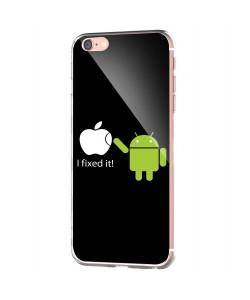 I fixed it - iPhone 6 Carcasa Transparenta Silicon