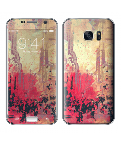 New York Time Square - Samsung Galaxy S7 Skin