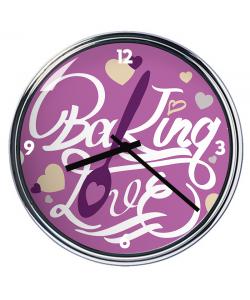 Ceas personalizat - Baking Love