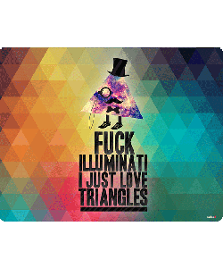 Love Triangles - Samsung Galaxy A5 Carcasa Silicon