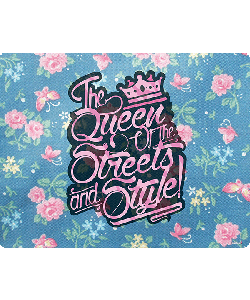 Queen of the Streets - Floral Blue
