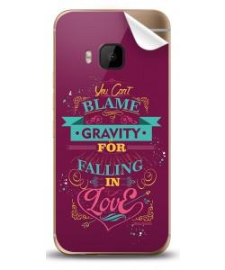 Falling in Love - HTC One M9 Skin