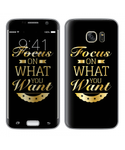Focus - Samsung Galaxy S7 Skin