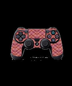 Marsala Zig Zag - PS4 Dualshock Controller Skin