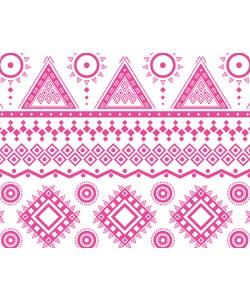 Pink Geometry - Huawei P10 Lite Carcasa Transparenta Silicon