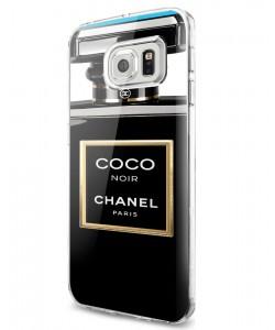 Coco Noir Perfume - Samsung Galaxy S7 Carcasa Plastic Premium