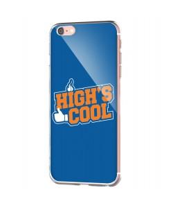 High's Cool - iPhone 6 Carcasa Transparenta Silicon