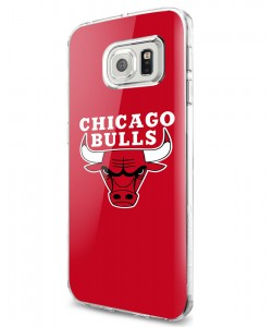 Chicago Bulls - Samsung Galaxy S7 Edge Carcasa Silicon