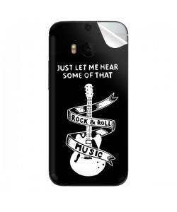 Rock & Roll - HTC One M8 Skin