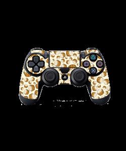 Brown Cupcakes - PS4 Dualshock Controller Skin