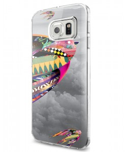 Flying Colors - Samsung Galaxy S7 Edge Carcasa Silicon