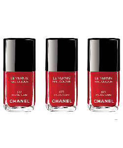 Chanel Rouge Rubis Nail Polish - Sony Xperia Z1 Carcasa Fumurie Silicon