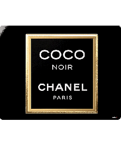 Coco Noir Perfume - Sony Xperia Z1 Husa Book Neagra